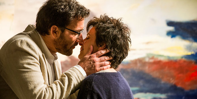 Words and Pictures  (2014): Clive Owen and Juliette Binoche