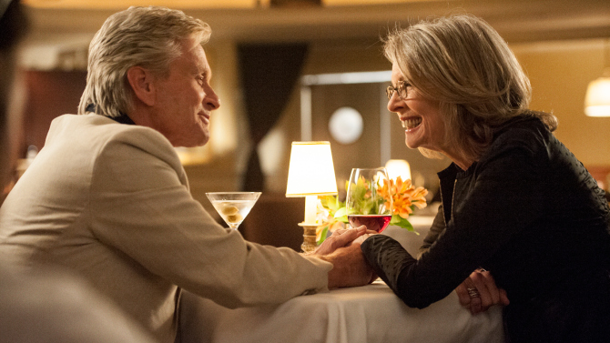 And So It Goes  (2014): Michael Douglas and Diane Keaton.