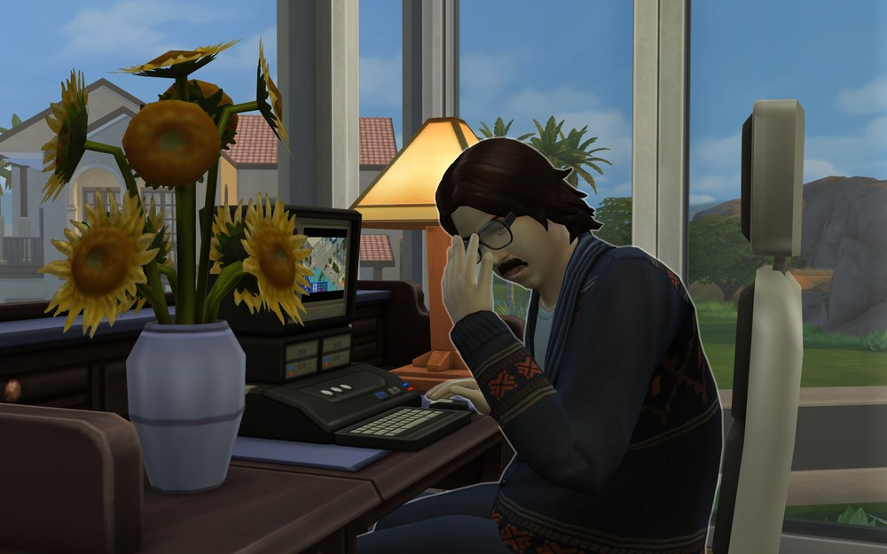 The Sims 4  (2014): Oh, poor Nietzsche.