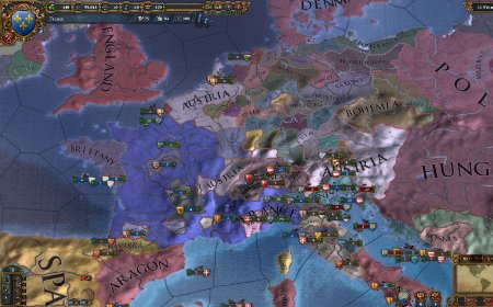 Europa Universalis 4  (2013) by Paradox Development Studio