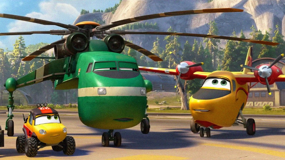 Planes: Fire and Rescue  (2014).