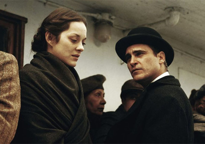 The Immigrant   (2014):   Marion Cotillard and Joaquin Phoenix.