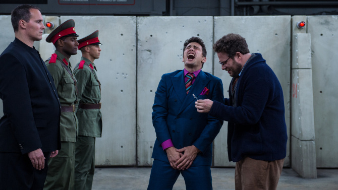 The Interview  (2014): Viewers will feel the same way.