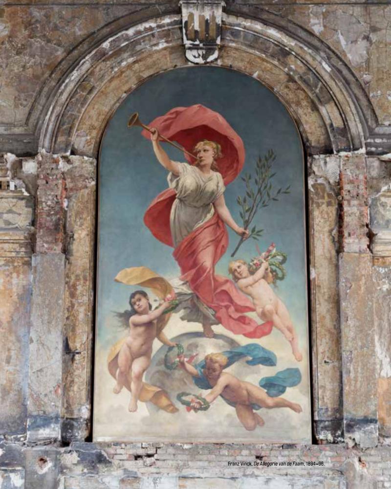 De Allegorie van de Faam - Franz Vinck © Alex Salinas