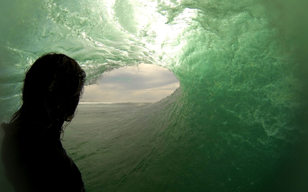 Adam Bennetts GoPro South Stradbroke Island