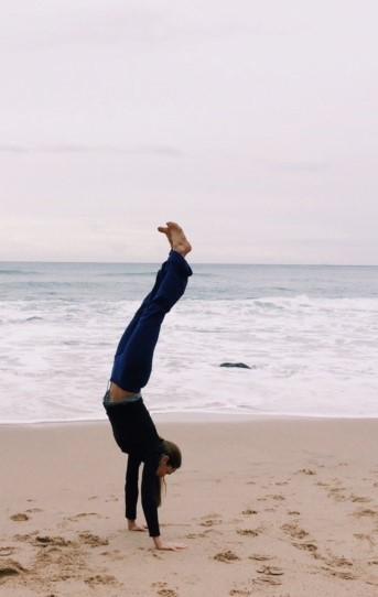 Morning Handstand
