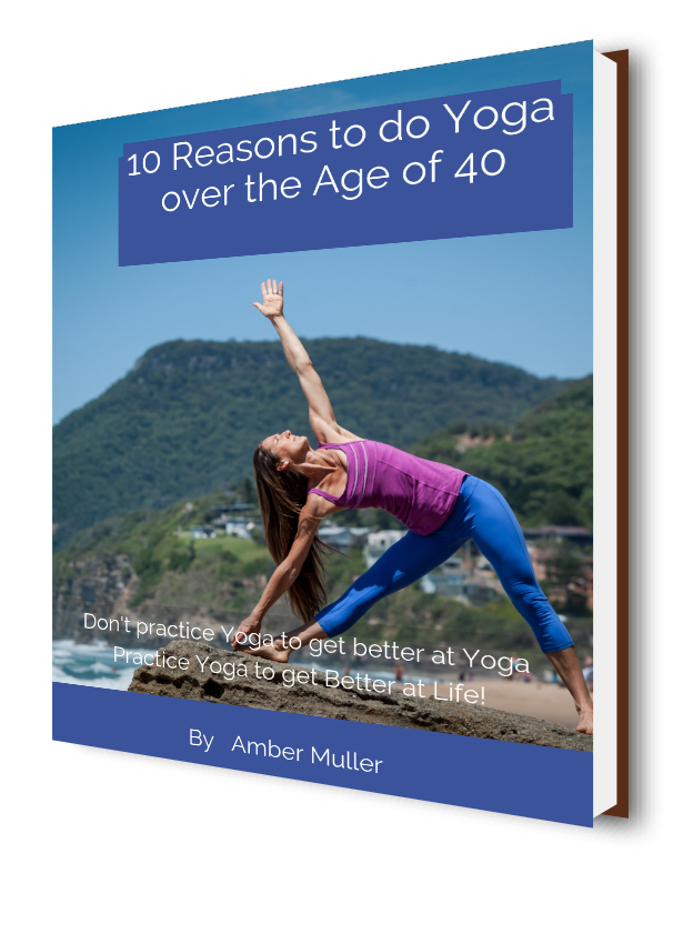 Don't Practice Yoga to get better at Yoga, practice Yoga to get better at Life!