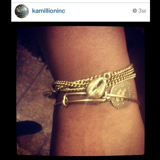 R/p from @kamillioninc wearing Open Spirit. Dawn is a wonderful jewelry designer that has supported me for years. Thank you Hun, your support is much appreciated. #repost #charmedfeathers #brass #accessories #jewelry #bracelets #scarab #chain #armcandy