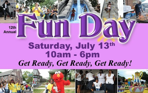 Today at the Christian Love Baptist Church on 830 Lyons ave in Irvington NJ 07111, it's a family day of fun.