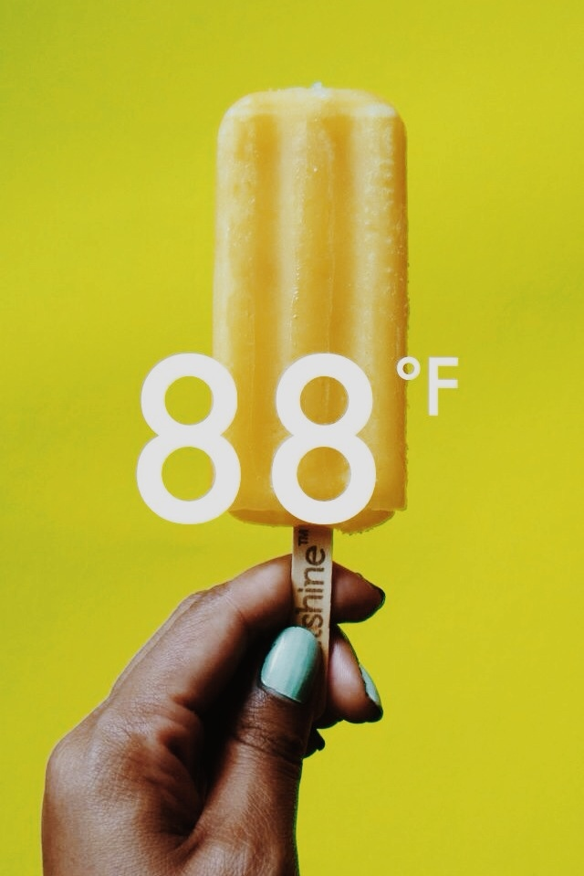 teffthedon: + [11-8-14] - 88. // popsicles with real pineapple chunks in the centre are Love. Hope your afternoon was as well-spent! (':
