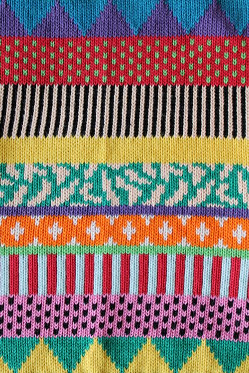 shutterhoney :     Sweater pattern detail Annie Larson.