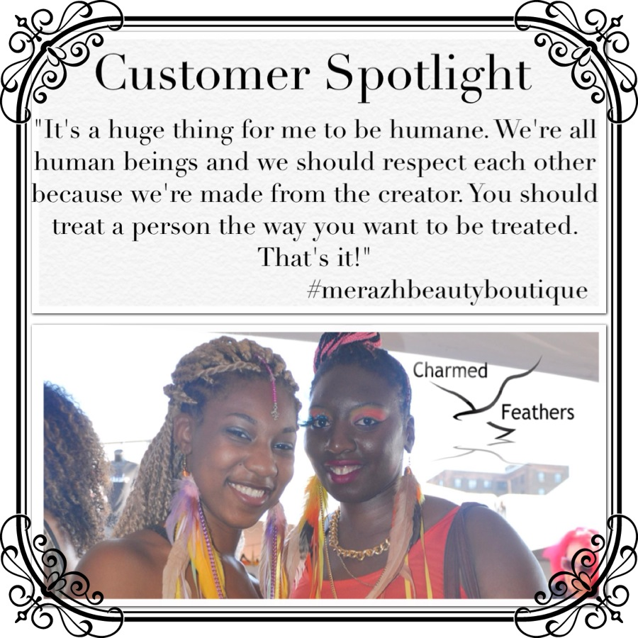 I had the pleasure of meeting a fellow entrepreneur by the name of Merazh. Besides being a boutique owner, Merazh's keeps a busy schedule tripling as a mother, wife, and a part time interior decorator! Above everything said, what drew me to her was How genuinely kind she was in addition to her beliefs in being kind to everyone around in the world. Merazh also believes entrepreneurs should support one another because only 'we' understand each other's struggle. I praise Merazh for her empathy and professionalism, and I will always remember her word if I'm ever in a predicament which requires me to do as much. We all have different paths in our own crafts, butwe shouldn't forget that we all have the same destination in establishing ourselves and our businesses. What I got from speaking with her is if ever you can't understand someone, we should just remind ourselves that we're all human.           @Merazh   is definitely out here in NYC ladies! Visit her IG for more on her boutique and how you can find all things girly and in-season.