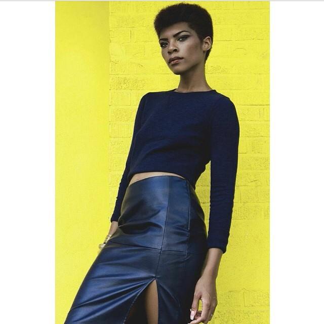 Fierce. #repost #regram @dream_of_adream #africanmodel #color #allblack
