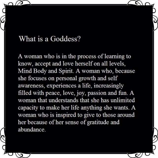 What is a Goddess? #goddess