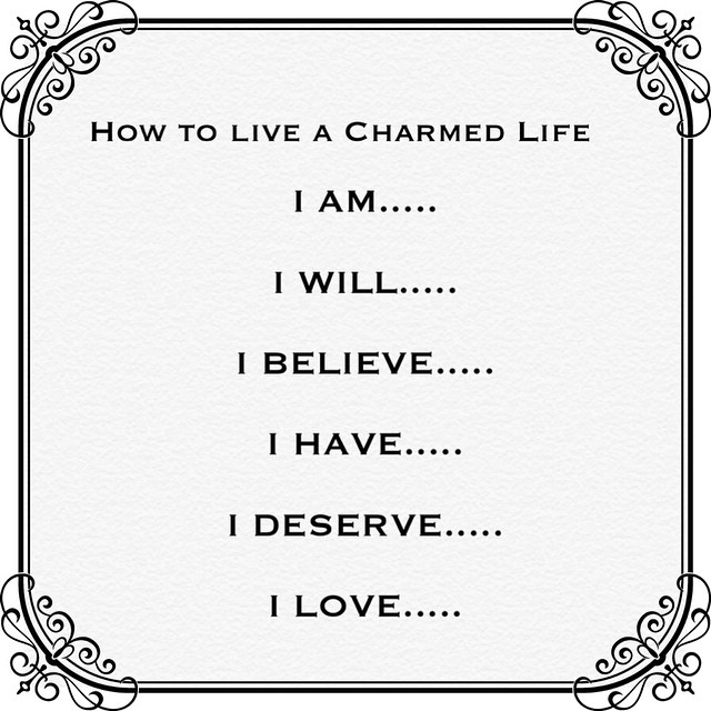 To to live a Charmed Life you should start your day with morning affirmations. If you don't have any you can use mine 🌞. #howtoliveacharmedlife #IAM #charmedfeathers #affirmations