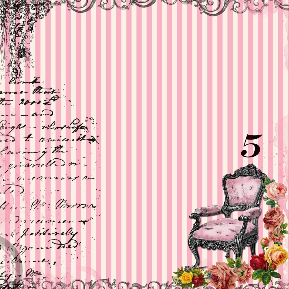 free digital scrapbook paper - pink stripes french chair.jpg