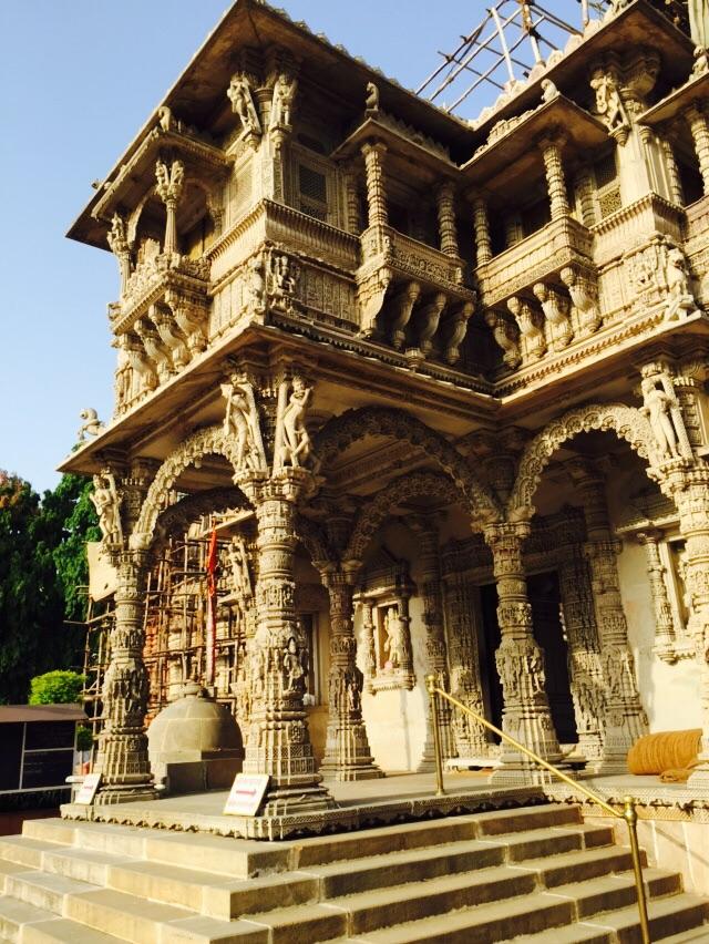 Jain Temple is Ahmedabad.