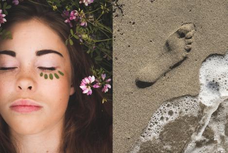 """Rituel """"Face & Feet"""" - (1h10 de soin visage + 30min de réflexologie plantaire thaïlandaise).Ce soin va vous apporter une détente globale du corps. Vous allez repartir avec la tête dans les étoiles et les pieds sur un nuage de coton.- Le soin du visage"""