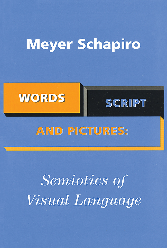 Words, Script, & Pictures: The Semiotics of Visual Language