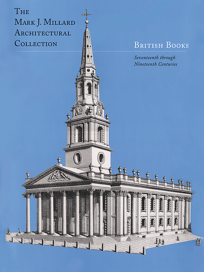 Mark J. Millard Architectural Collection (Vol. 2) British Books