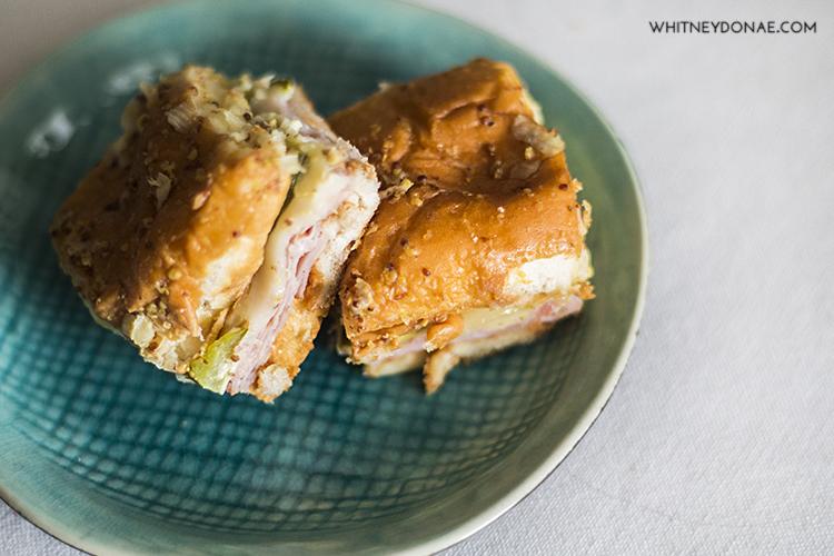 Food, Sandwiches, Cuban Sliders