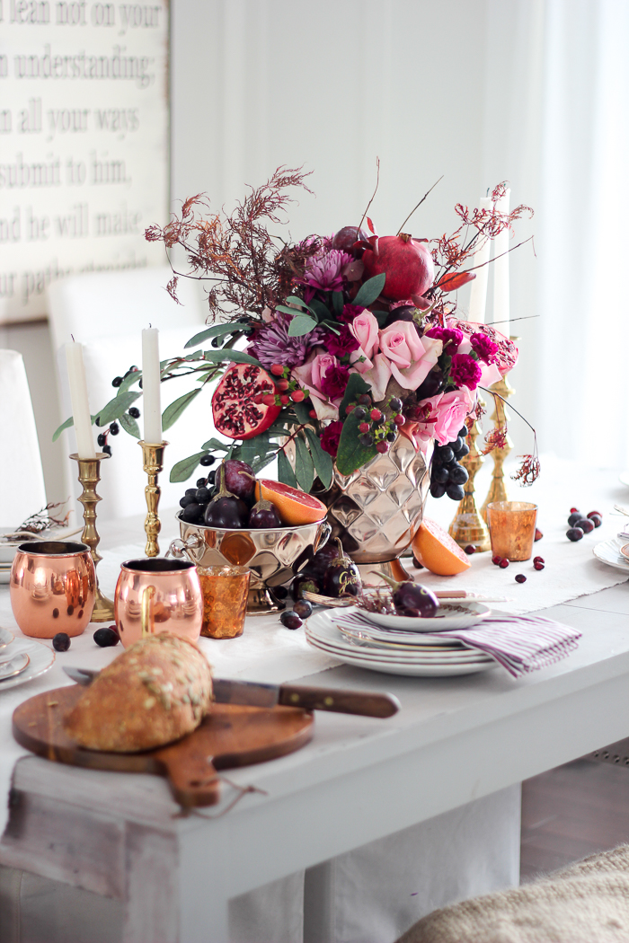 Craftberry Bush Tablescape