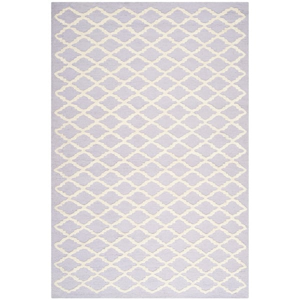 Cambridge Lavender/Ivory Area Rug by Wayfair