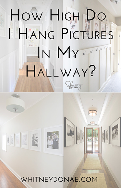 How High Do I Hang Pictures In My Hallway Whitken Co