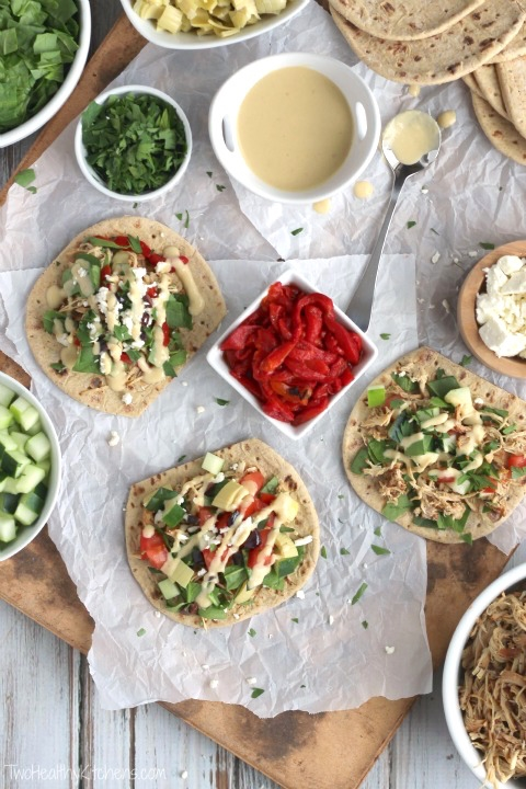 Summer Entertaining Menu: Mediterranean Taco Night