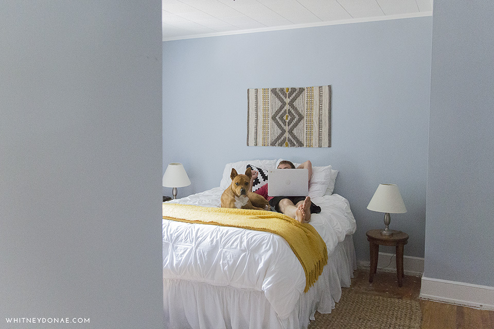 Why I Chose a Blue Grey Color for Our Bedrooms