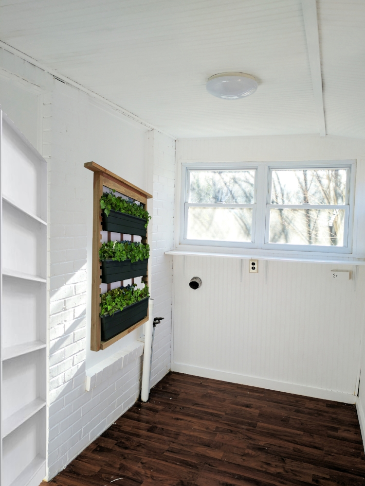 Pickens' Laundry/Mudroom Before & After