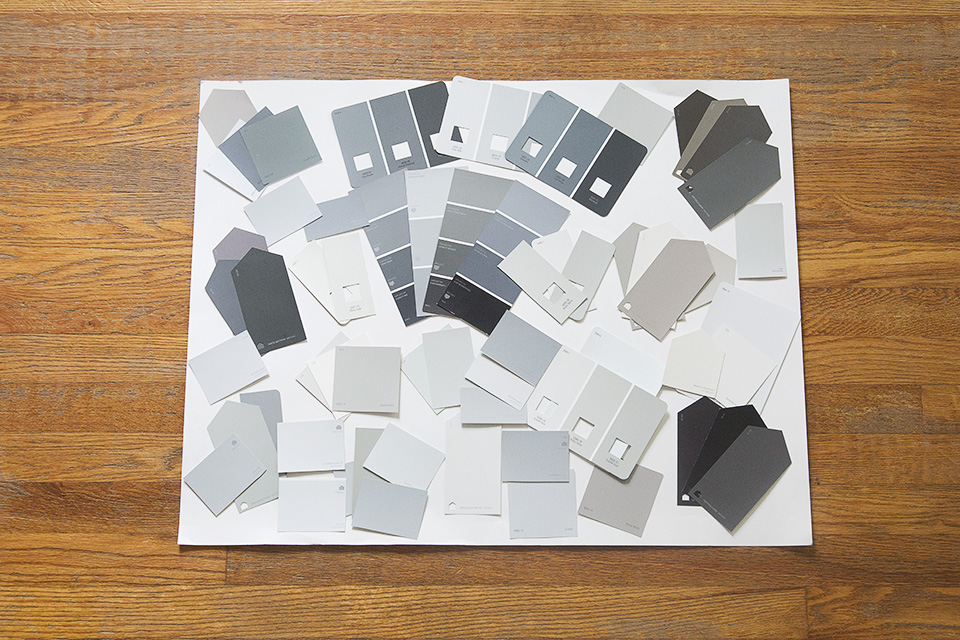 How to Pick the Perfect Grey (or any other color)