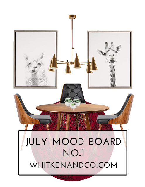 July 2017 Mood Board Number 1