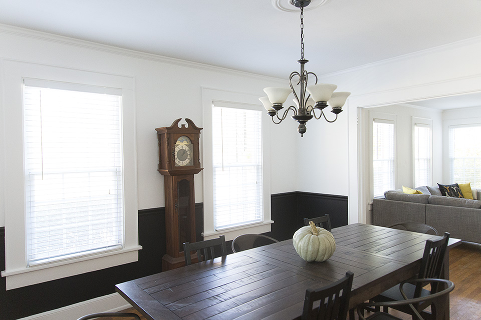Vintage, Modern, Minimal Dining Room