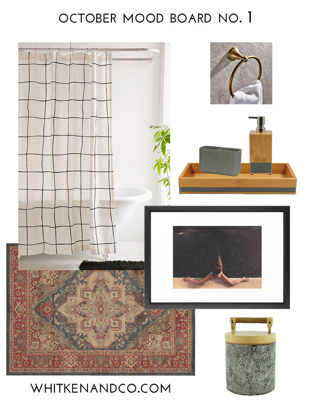 October Mood Board: No. 1 - Whitken & Co.