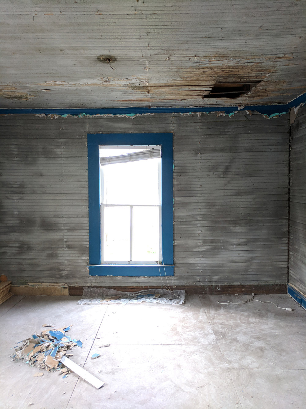 The Robert Lee Robinson House Guest Bedroom: Demolition & Revelation