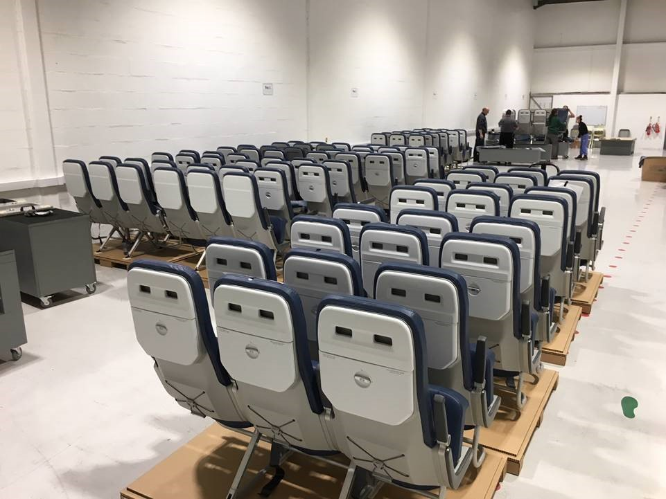 PITCH PF3000 takes to the sky under EASA STC  In April 2018 PITCH secured the EASA Supplemental Type Certificate for the PF3000 and entered service under its 16g certification. Another A320 (16g) ship set being prepared to leave our manufacturing facility in the UK last week