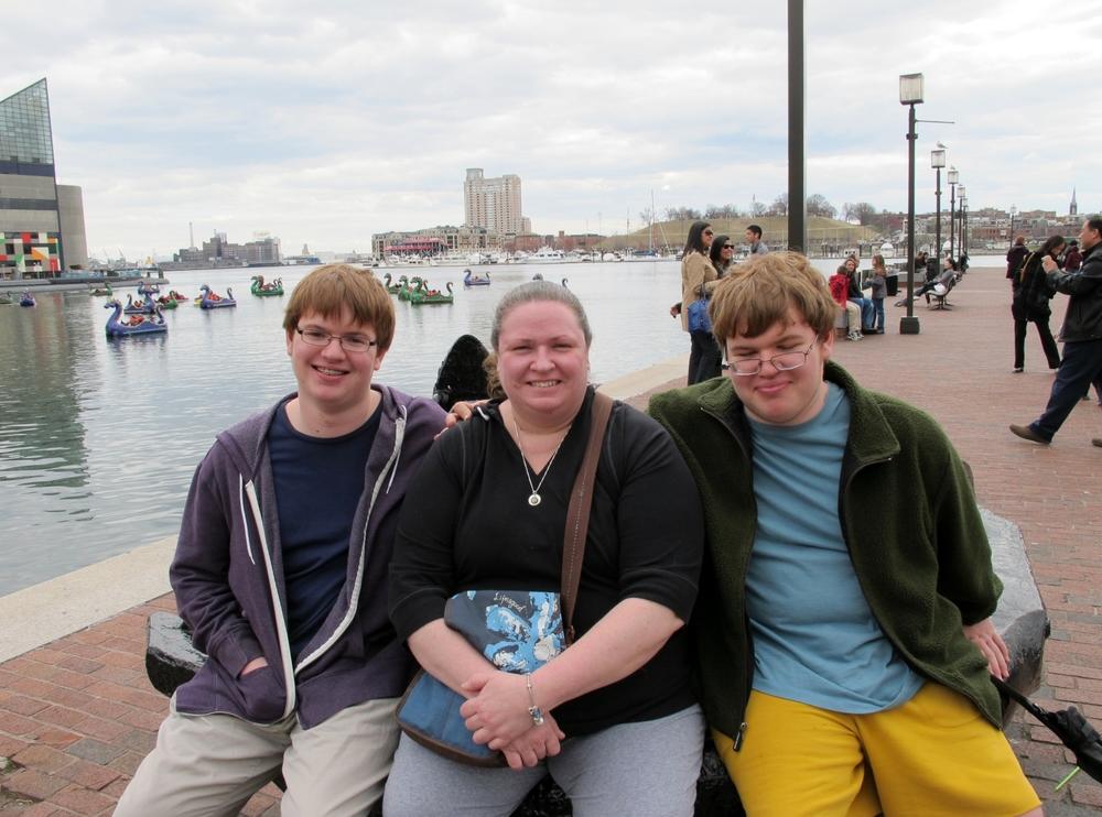 Zachary, Penn & Ethan