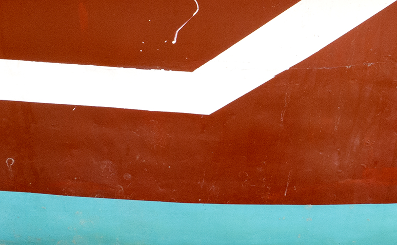 Turquoise Red White, 2013