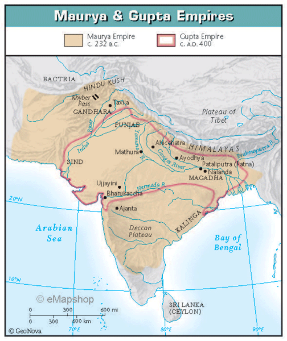 Classical china and classical india