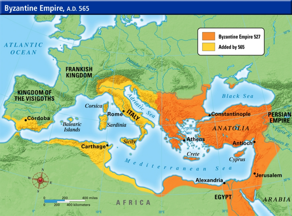 Byzantine Empire — Freemanpedia