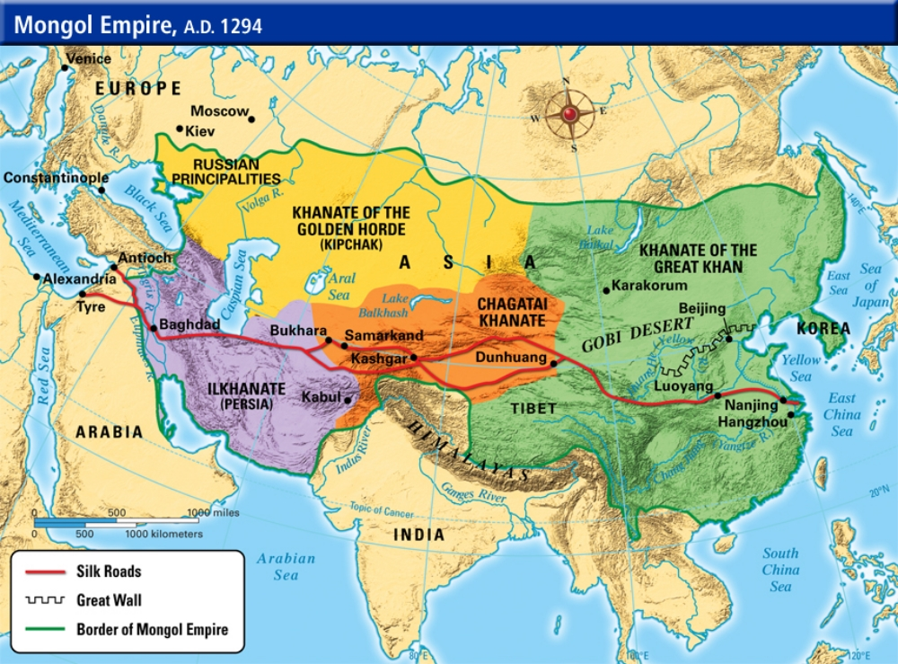 Genghis khan one of the world s