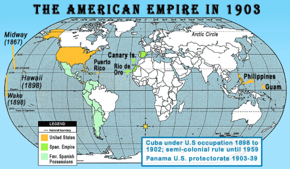 American Empire Freemanpedia - Us territories and possessions map