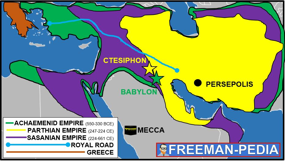 Persian Empire Freemanpedia