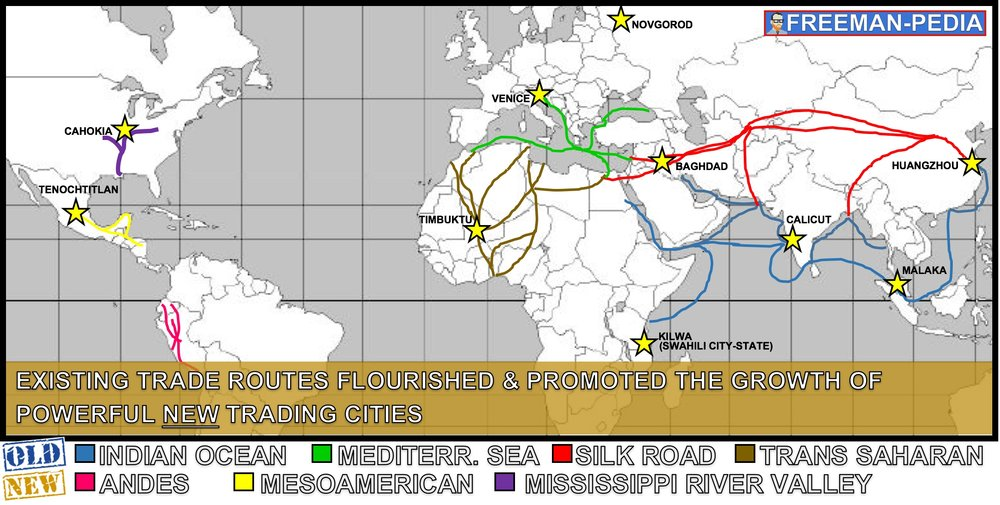 indian ocean trade network essay example Unit ii: 600 - 1450 ce  of muhammad's example  links in the long-distance trade networks both the indian ocean trade and the silk road were disrupted by.