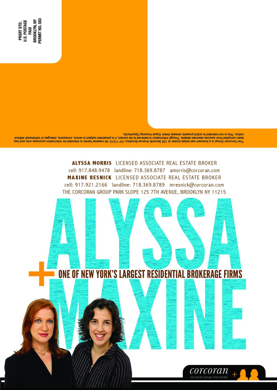 Branding Identity Promo, Frontside, Mailer 1 of 4