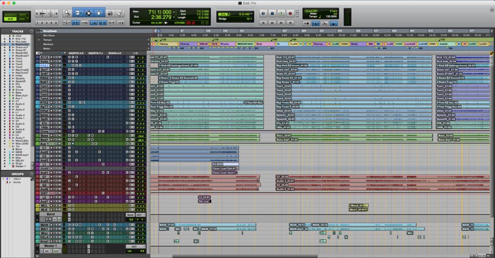 Editing my EP