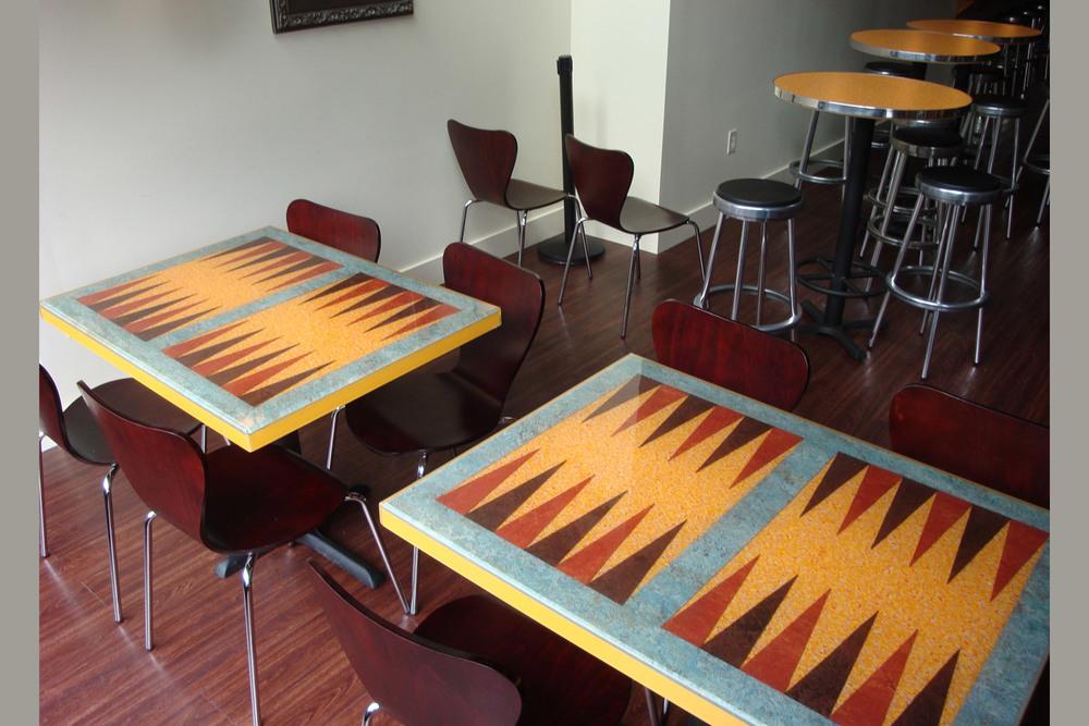 Backgammon Tables