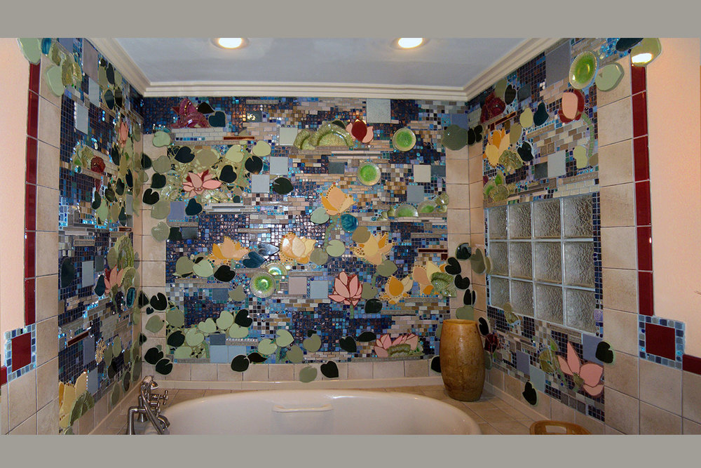 Mosaic Bathroom Wall