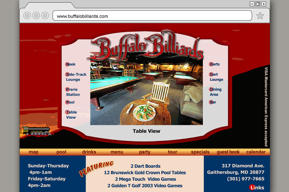BUffalo Billiards Gaotherburg